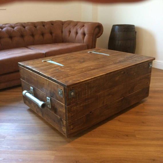 Pine Storage Chest Coffee Table Barkeaterlake Com