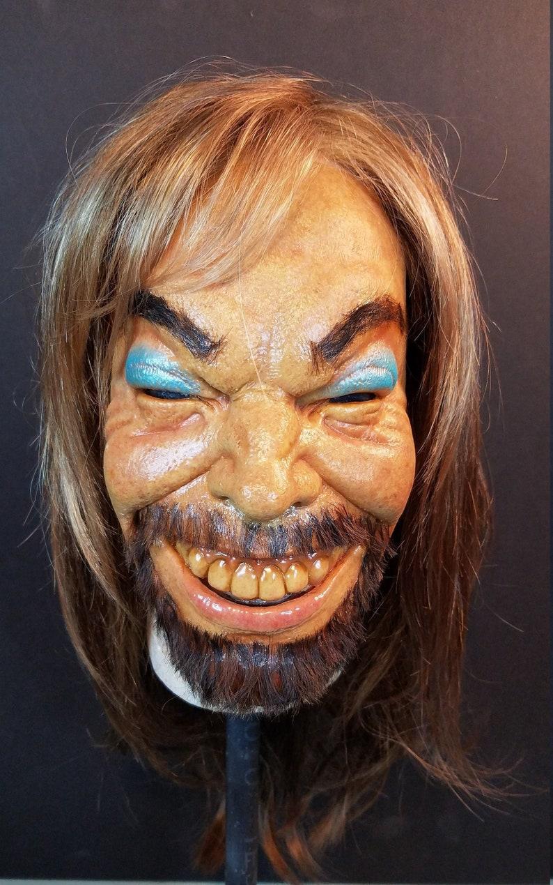 Aphex Twin Richard D. James  latex half mask wearable come to image 0