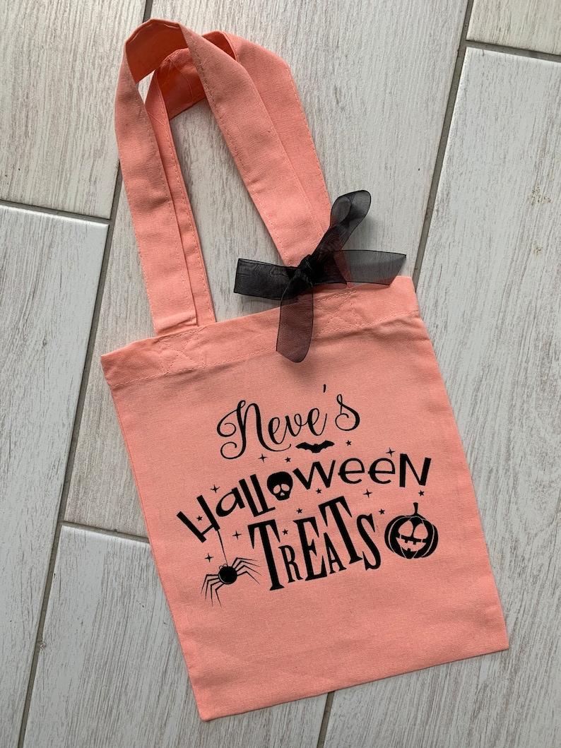 Personalised Halloween MIni Tote