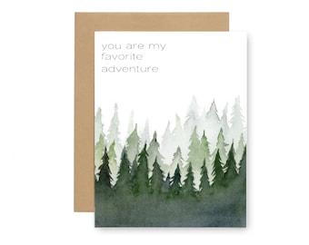 Favorite Adventure Card