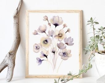 Tender Bloom- Art Print