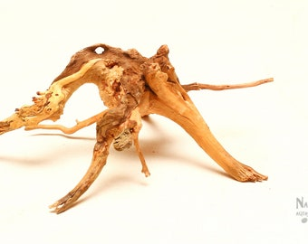 "Spider Wood Aquarium Nano Driftwood 7""x6""x3"" (LxWxH) - WYSIWYG Spiderwood - Aquarium, Decor, Display, Reptile"
