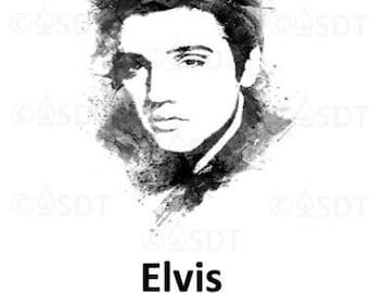 Elvis Temporary Tattoo
