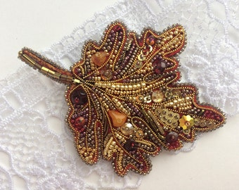 b9c3c9a03 Pins & Brooches Leaf Pin Gold Tone New Brown Yellow Orange Fall Autumn  Leaves Jewelry Brooch
