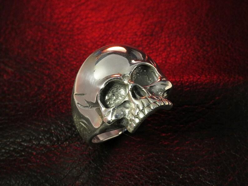 Skull Ring for Men Skull Jewelry Silver Skull Ring for image 0