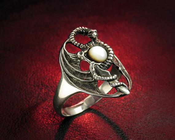 Silber Of SchlangenringGotischer RingSchmuckGame Damen Weihnachtsgeschenk Sterling Drachen Thrones LUzSpMjqVG