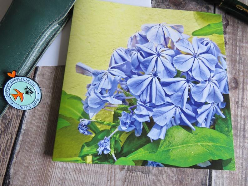 FREE UK POSTAGE Plastic Free Flower Card Birthday