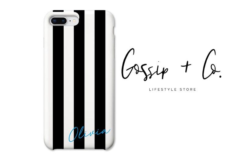 brand new 9471a ba65d Black Stripe Phone - iPhone 7 Case - Black Stripe - iPhone 7Plus - iPhone  SE Case - iPhone 6 Case - iPhone 6s Plus- iPhone 5S Case - Stripe