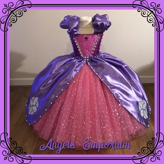 Luxury Sofia The First Inspired Tutu Dress Purple Pink | Etsy