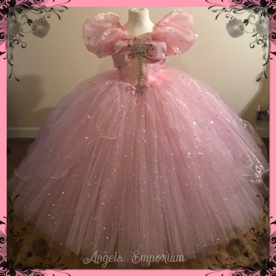 Glinda The Good Witch Inspired Tutu Dress Costume Wizard Of Oz | Etsy