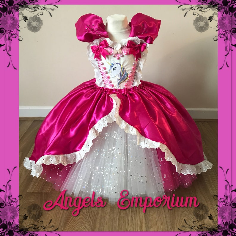 1be0cd28cdf Robe Tutu princesse Licorne luxe Cosplay magique boule robe