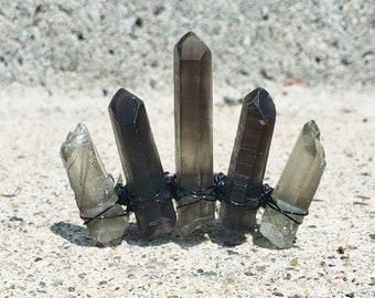 CUSTOM Mini Crystal Comb Crown- 5 Stone (No Centerpiece)