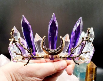 CUSTOMIZE Your Own Chandelier Crystal Headband Crown