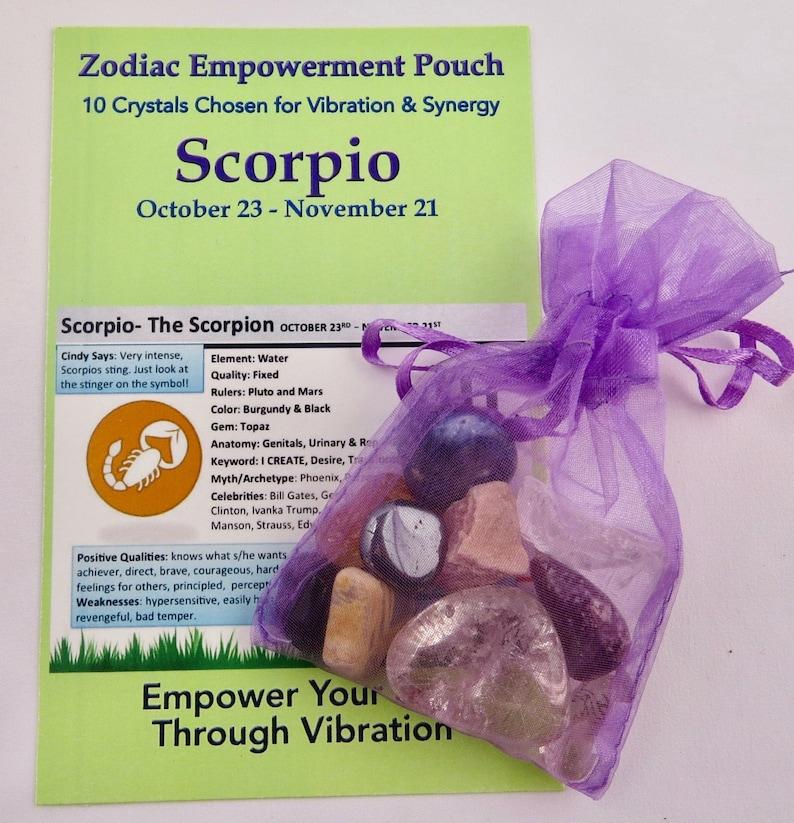 Zodiac Empowerment Pouch: Scorpio