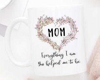 I Love You Mom Mug, Thank You Mom, Gift For Mom, Mug For Mom, Mom Mug, Mom Coffee Mug, Mom Gift, Mothers Day Gift, Birthday Gift For Mom