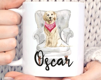 Golden Retriever Mug Etsy
