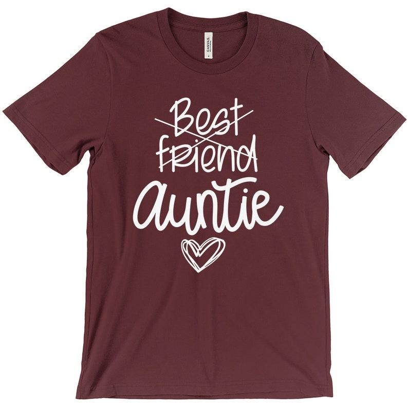 Best Friend Shirt Aunt Shirt Aunt Reveal Aunt Announcement Auntie Shirt Promoted To Aunt New Aunt Shirt Aunt Tee Best Friend To Aunt