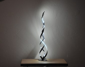 Lamps and luminaires, LED living room lamp, metal decoration, Decorative and trendy lamps, hand-made