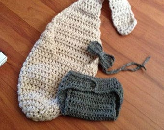 Stork Sling Pouch and Extras Photography Prop for Newborn,  Finished Item ~ Pick your own colour
