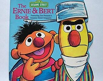The Ernie & Bert Book by Norman Stiles - Illustrated by Joe Mathieu - Sesame Street - Muppets - Children's Book - Humor