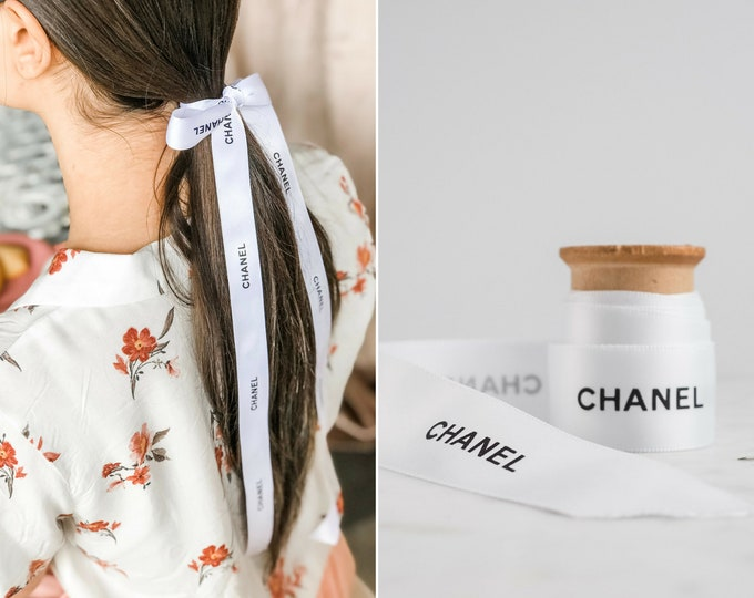the Chanel ribbon | black & white