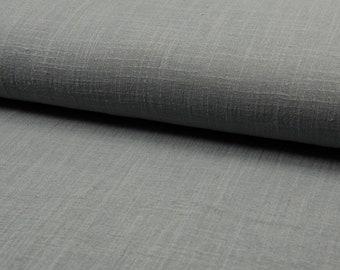 Slub muslin 100% cotton grey Aruba