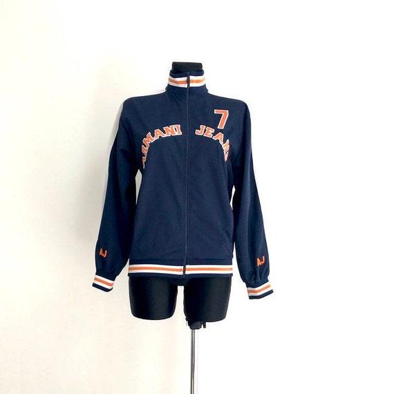 Brand Armani Jacket Running Parka Hipster Jacket 1980 Vintage   Etsy 9df399f40d7