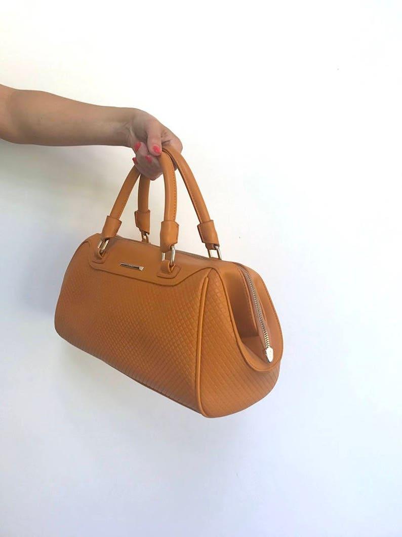 46eefeaf28 Balina Brown Bag Brown Leather Handbag Pebbled Genuine Leather