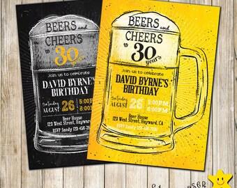 Invitación Cumpleaños Digital De Vítores Y Cerveza