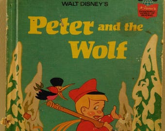 Walt Disney's Peter and the Wolf Wonderful World of Reading Children's Book (bb1)
