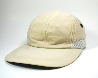 cb3bb422135 Vtg 4 Panel SunBlock UV 45+ Long Bill Adjustable Strapback Hat