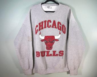 113965619 Vintage Chicago Bulls Crewneck Sweatshirt
