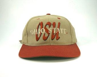 840a36d7aba Vintage Ohio State University Adjustable Strapback Hat Cap