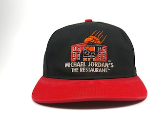 c533e9fbe5dd22 ... denmark vintage michael jordans the restaurant adjustable snapback hat  cap mj jordan two tone 90s dad
