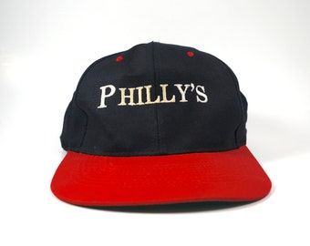 1421f1de1ea Philly s Vtg Two Tone Dad Hat Baseball Cap