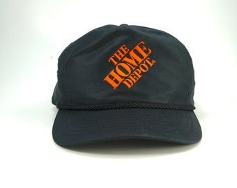 500a5edd4f3fb Vintage The Home Depot Hardwear Store Adjustable Snapback Hat Cap