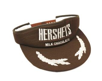 a43275a3446 Vintage Hershey s Milk Chocolate Visor