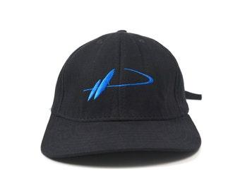 cd2a8a5fb51 Mercedes Benz CLK Vtg Black Adjustable Strapback Baseball Cap Dad Hat