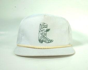 feb156dd75328 Dodge City Implement Vintage Trucker Hat Snapback Cap