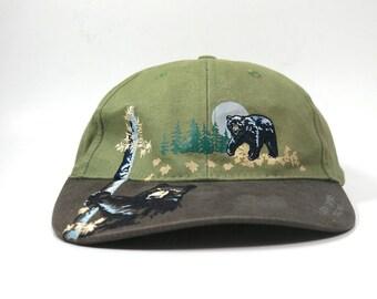 4ca1e0984 Vintage Luray Caverns Virginia Two Tone Dad Hat