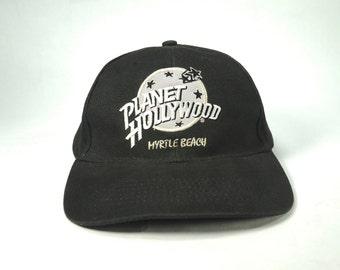 e91be93892b Vtg Hard Rock Cafe Myrtle Beach Baseball Cap
