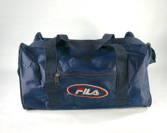 Vintage FILA Travel Duffle Bag 90 s 285b6edb5641a