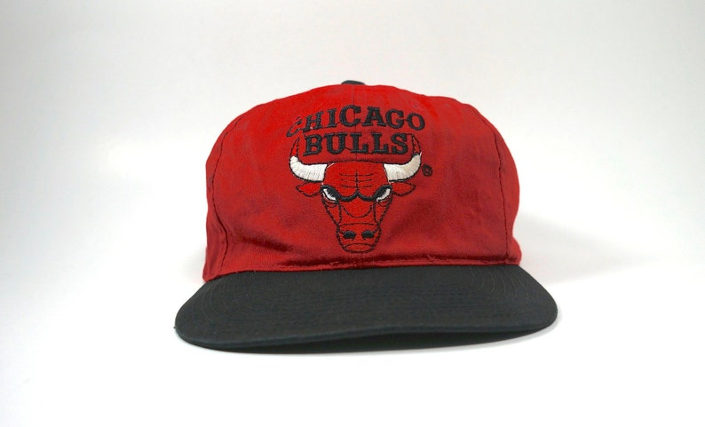5ab53a6887b Vintage Chicago Bulls Twins Adjustable Snapback Hat Cap NBA