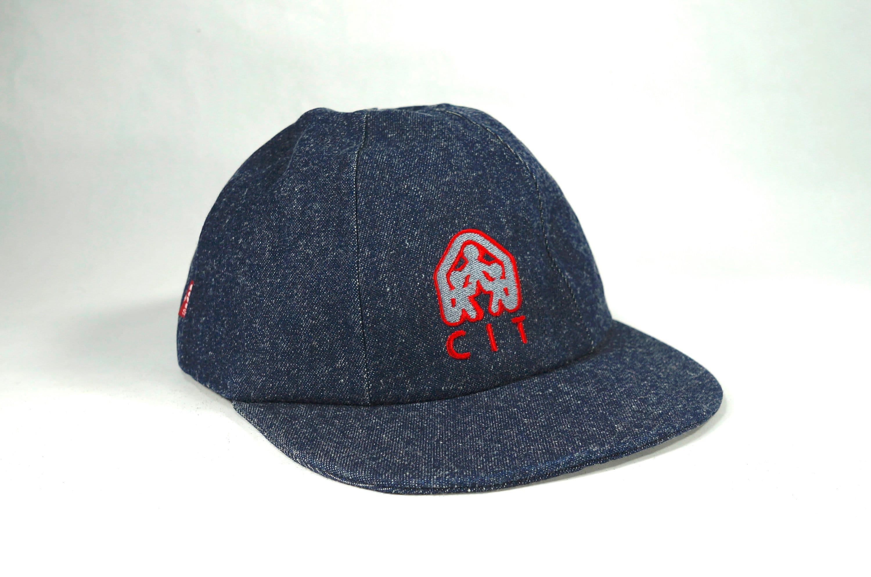 97ee57a2 Vintage CIT Levi Strauss Blue Denim Red Tag Snap Back Hat USA | Etsy