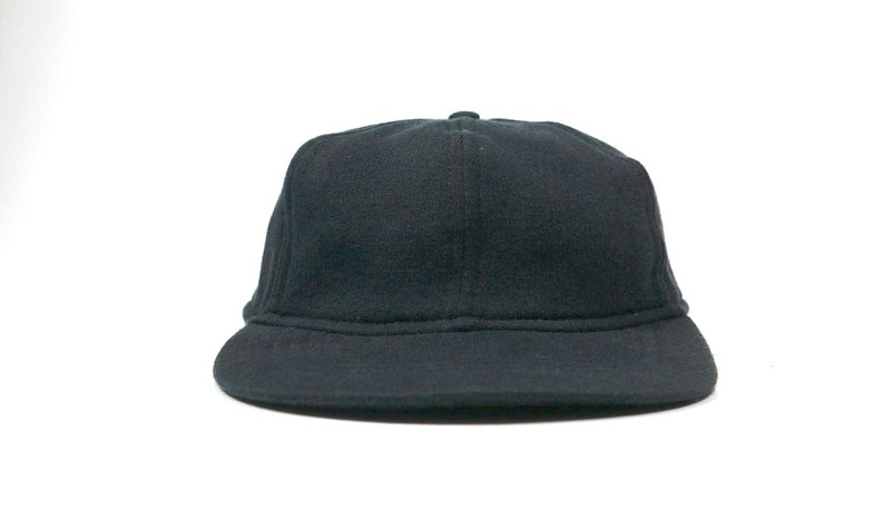 40317a2470b19 Vintage Eddie Bauer Outdoor Plain Dad Hat Black Baseball Cap