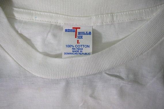 VTG Tourisaurus Washington DC Tourist T Shirt, 90… - image 4
