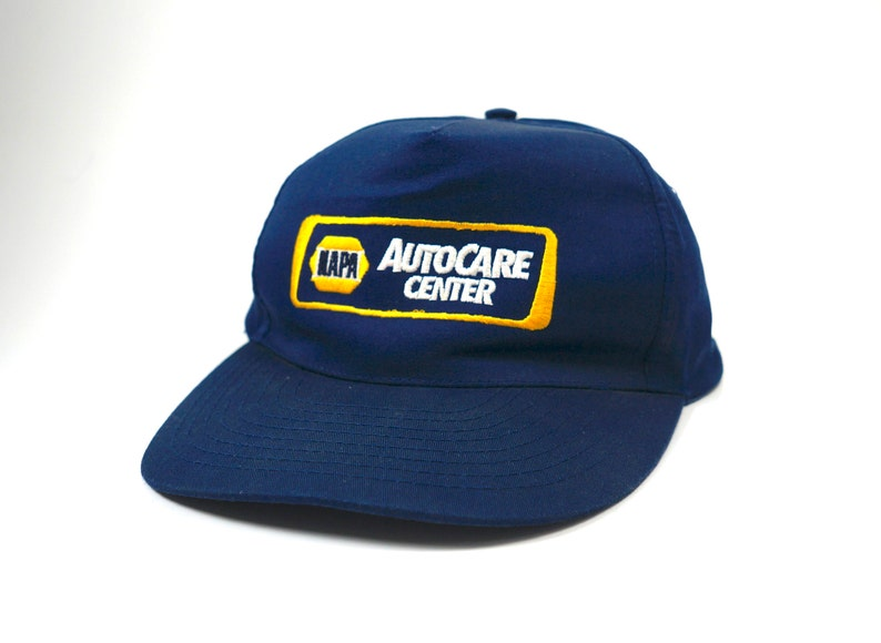Vtg Napa Auto Care Center Adjustable Snapback Dad Hat Cap  b550213c5e2d