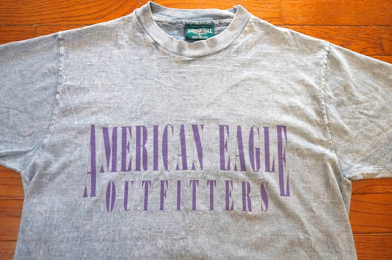 e8b5a654 Vintage American Eagle Outfitters T Shirt Made In USA 90s | Etsy