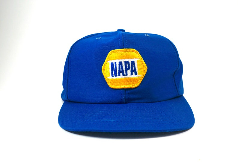 f7b4fc4b707 Vintage Napa Racing Hat Cap with Adjustable Snapback Auto Parts Hat ...
