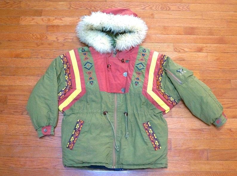 8124daacd2 Vintage Rare Triple Fat Goose Down Parka Jacket Coat 90s